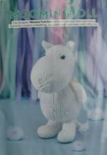 Knitting pattern Moomin  soft toy approx 15 cm high