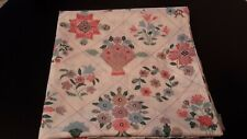 Charming Hygiene Industries Fabric Shower Curtain - Calico Flowers/Birds/Flowers