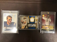 Drew Brees Lot 2001 Rookie Card RC 2011 Auto Patch Topps /20 Saints PSA Ready 🔥