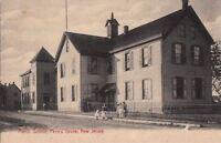 Postcard Public School Penn's Grove New Jersey NJ