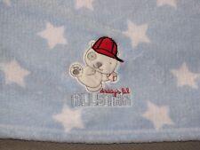NUBY BABY BOY BLUE WHITE STAR BLANKET DADDYS DADDY'S LIL ALL STAR ALLSTAR DOG
