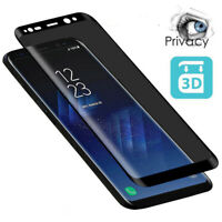 For Samsung Galaxy S8 S9 Note 9 Privacy Anti-Spy Tempered Glass Screen Protector