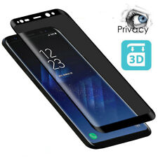 Privacy Anti-Spy Tempered Glass Screen Protector For Samsung Galaxy S8 S9 Note 9