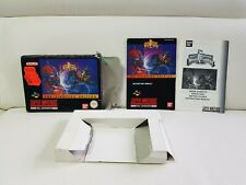 Super Nintendo Power Rangers The Fighting Edition Ovp+Anleitung Snes 1 Tag...