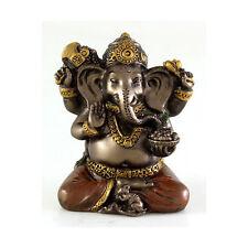 Hindu Lord Ganesh Miniature Elephant God Hindu Ganesha Statue Figurine #3298