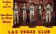 Las Vegas,NV.Las Vegas Club,One-Armed Bandits,Slot Machines,Gambling.c.1960