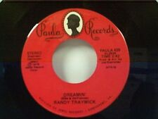"RANDY TRAYWICK (RANDY TRAVIS) DREAMIN / I'LL TAKE ANY WILLING WOMAN"" 45 MINT"