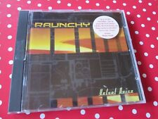 RAUNCHY Velvet Noise CD INDUSTRIAL METAL FEAR FACTORY