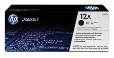 Hp cartucho de Tóner original LaserJet 12a negro Pvp01-0808