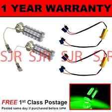 H3 Verde 60 LED Lámpara Puntual de bombillas de luz Antiniebla Delantera Kit de alta potencia xenon FF500201 X2