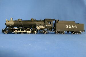 HO SCALE ATHEARN GENESIS USRA 2-8-2 A.T.S.F. #3286  DCC SOUND EQUIPPED - USED