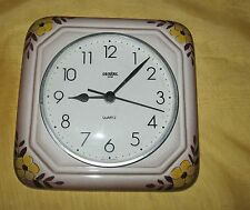 Ceratec Time Wanduhr Keramik 20x20cm Made in Germany