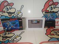 Mega Man X Super Nintendo SNES Complete CIB 100% Authentic Cart Cust. Box