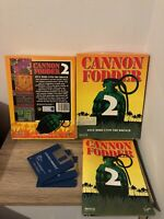 CANNON FODDER 2 COMMODORE AMIGA COMPLETE 100%