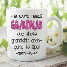 Nouveauté Funny Mugs Grand-maman Grandkids Petits-enfants Fête Des Mères