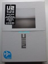U2 NO LINE ON THE HORIZON BOX CD+DVD+BOOK Limited Edition NEW