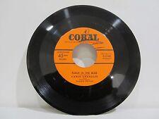 "45 RECORD 7"" SINGLE - KAREN CHANDLER- FLASH IN THE BLUE"