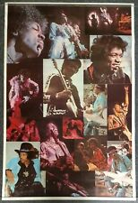 Jimi Hendrix Collage 1976 Poster Dargis Associates #3383