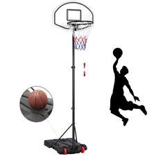 Panier de basket ball sur pied mobile Hauteur réglable 196-251cm 5 Niveaux