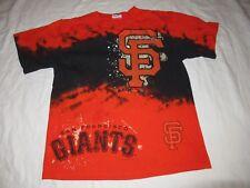 Vintage San Francisco Giants T Shirt Majestic Tie Die Size Mens Medium