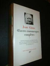 Jean GIONO-Oeuvres romanesques complètes t. V La Pléiade 1980 - PARFAIT ETAT