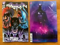 BATMAN 105 2020 Main Cover + Francesco Mattina Card Stock Variant Set NM