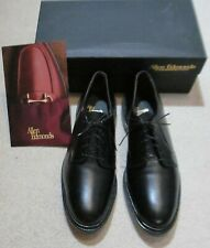 Allen Edmonds Black Leather Oxfords Size 13 D Style Leeds NEW