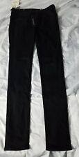 NWT Rag & Bone techLegging Jeans Black Stretch Skinny Slim Sz 28