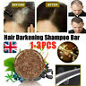 Soap Hair Darkening Shampoo Bar 100% Natural Organic Conditioner and Repair HOT