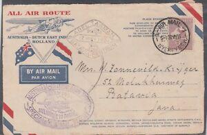 Australia to Batavia Cover  - (BP165)