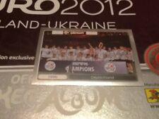 #532 Germany Euro 96 Champions Panini Euro 2012 PLATINUM EDITION sticker foil