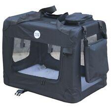 HugglePets Large Fabric Pet Carrier - Black