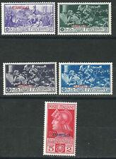 Italy Aegean Stampalia Stamps 12-16 Sas 12-16 Ferrucci MNH F/ VF 1930 SCV $67.50