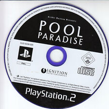 Archer Maclean POOL PARADISE sony ps2 game Playstation 2 jeu PAL 2004