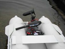 DELUXE 55 lbs 12V OUTBOARD ELECTRIC TROLLING MOTOR: INFLATABLE BOAT KAYAK RAFT