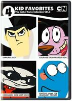 4 Kid Favorites Cartoon Network Hall of Fame #2 [New DVD] Boxed Set
