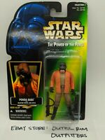 Kenner Star Wars Hologram Green Power Of The Force Ponda Baba Action Figure New