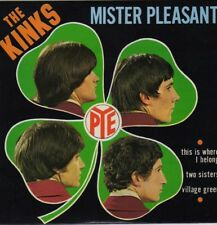 """THE KINKS MISTER PLEASANT FRENCH ORIG EP 45 PS 7"""""""
