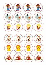 24 cirque clown singe ND2 comestibles givrage gâteau toppers décorations