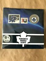 2014 25-CENT NHL COIN AND STAMP GIFT SET TORONTO MAPLE LEAFS