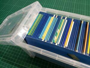 Box of 45 untested AMIGA  'FLOPPY DISKS'  3.5 inch - STORAGE BOX of 45 - DSDD