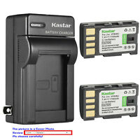 Kastar Battery Wall Charger for JVC BN-VF808 BN-VF808U & JVC GZ-MS120 Camcorder