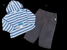 Ropa de niño de 2 a 16 años azul de algodón y poliéster