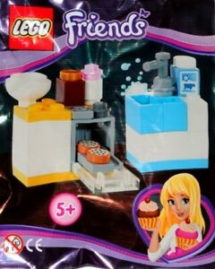LEGO Friends Stephanie Kitchen & Cookie Oven New & Sealed Foil Pack 561409 Gift