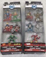 Nano Metalfigs - DC - Lot Of 2 Unopened 5 Pack Figure Collector's Set