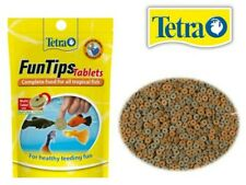 Tetra FunTips Fish Food Tablets Complete Food For All Tropical Fish 8g 20Tablets