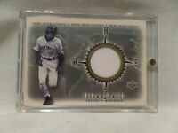 "ICHIRO SUZUKI CARD #GS-IS 2001 / 2002 UPPER DECK ""GLOBAL SWATCH"" GAME JERSEY"