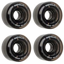 Impala Remplacement Roues 4 Pack Noir Rollschuh-Rollen 58mm Patins à Roulettes
