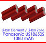 Li-Ion Elements Akku-Zellen for Notebook & Solder Tags Li-Ions Laptop Battery