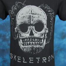 new FRIGHT RAGS TURBO KID SKELETRON T-Shirt SMALL movie horror terror film thin